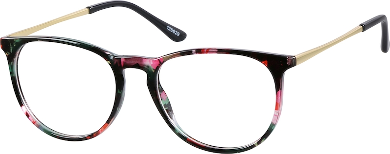 608c49f639 Multicolor Round Glasses  126629