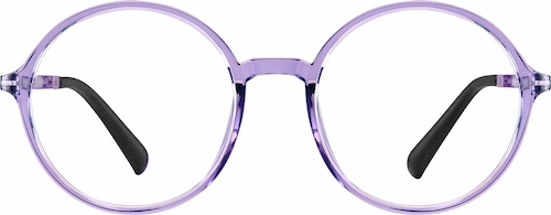 Purple Round Glasses