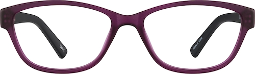 Purple Cat-Eye Glasses