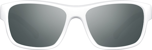 White Premium Rectangle Sunglasses