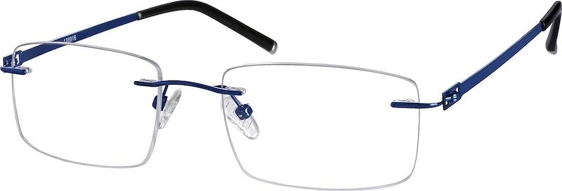 5500307607 Silver Titanium Rimless Glasses  138911
