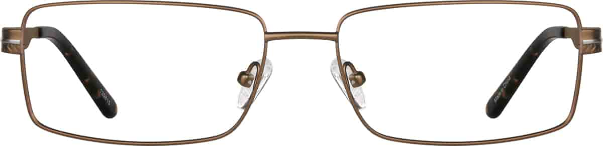 Copper Rectangle Glasses