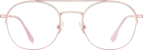 Rose Gold Aviator Glasses