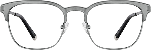 Gray Browline Glasses
