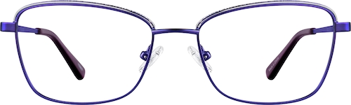 Puple Rectangle Glasses
