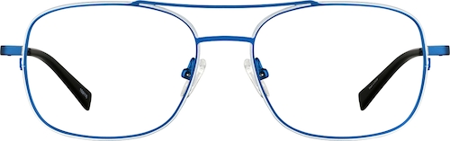 Blue Aviator Glasses