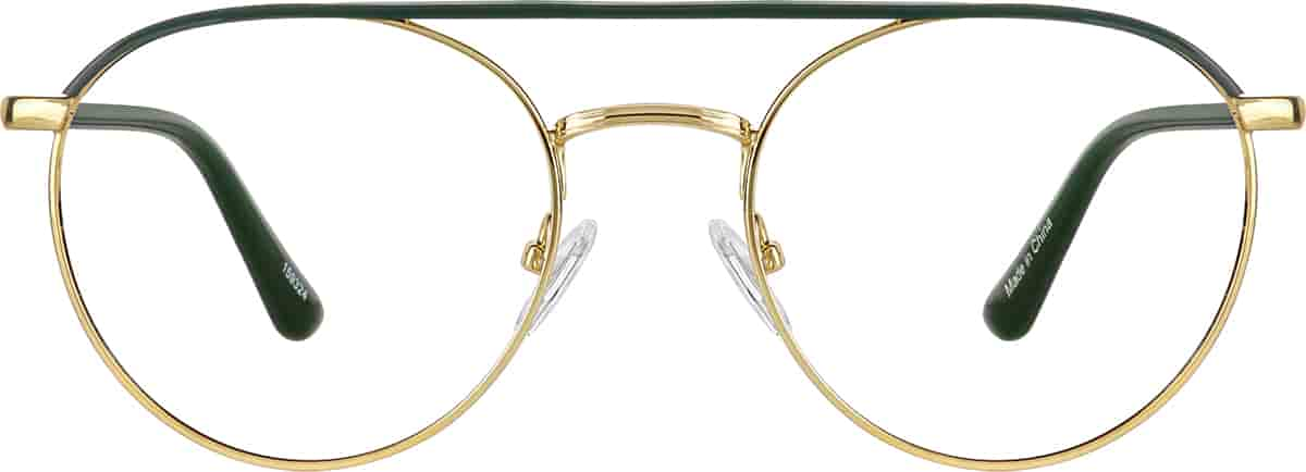 Forest Aviator Glasses