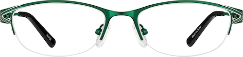Green Oval Glasses