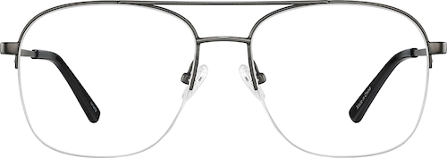Steel Aviator Glasses