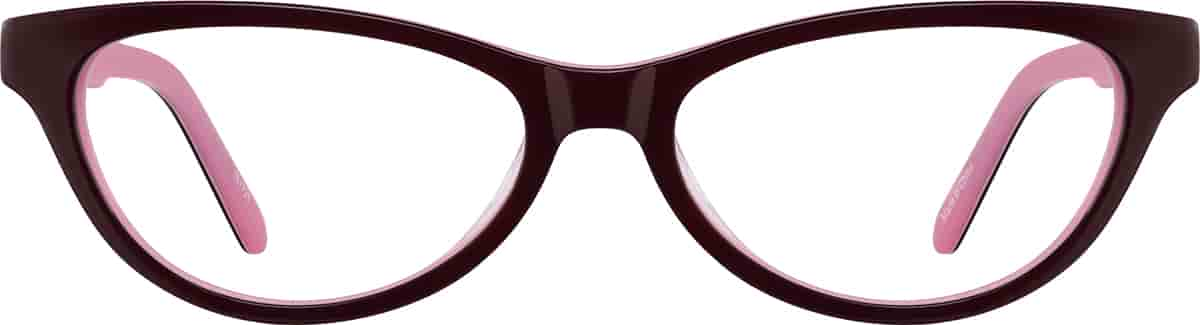 Black Kids' Cat-Eye Glasses