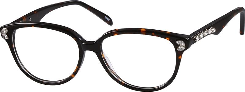 aa88ce2566 Tortoiseshell Cat-Eye Glasses  185525