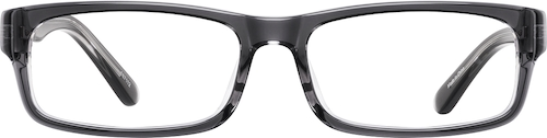 Gray Kids' Rectangle Glasses
