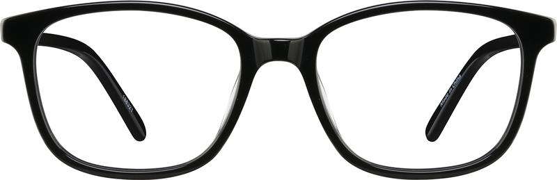 Black Acetate Full-Rim Frame with Spring Hinges #188321