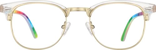 Clear Browline Glasses