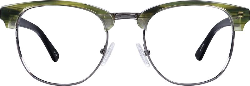 cf12f46ccec Green Stinson Browline Eyeglasses  192724