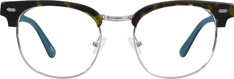 665db3cfce9 Tortoiseshell Browline Glasses  196225