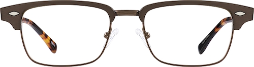 Brown Browline Glasses