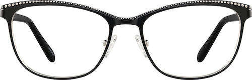 Black Cat-Eye Glasses