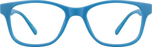 Sky Kids' Square Glasses