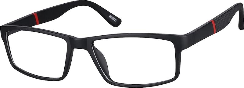 996d408ccd Black Rectangle Glasses  2012421