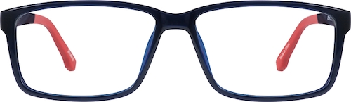 Midnight Blue Rectangle Glasses