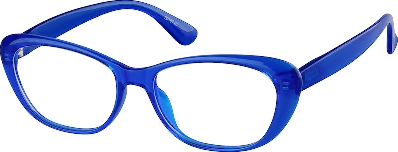 7fb6e9854d Blue Cat-Eye Glasses  2016716