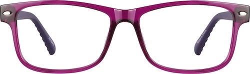 Grape Rectangle Glasses