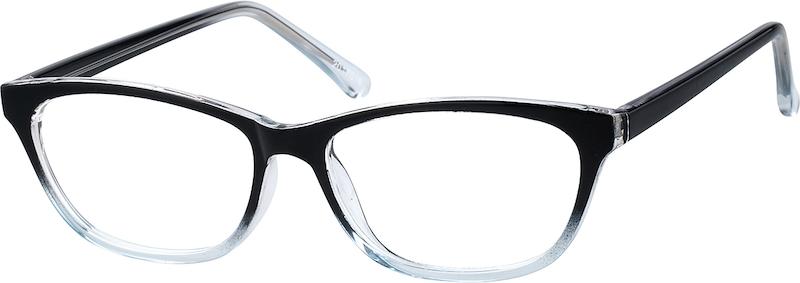 f319044b02 Translucent Cat-Eye Glasses  2017016