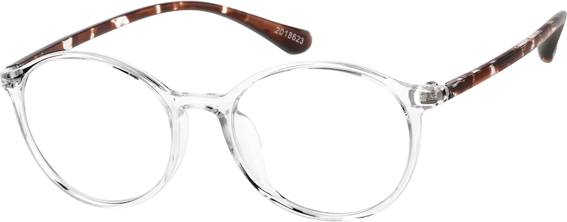 26a35f05655 Round Glasses 2018623. Previous. sku-2018623 eyeglasses angle view ...