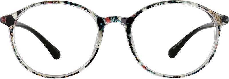 Pattern Round Glasses #2018639