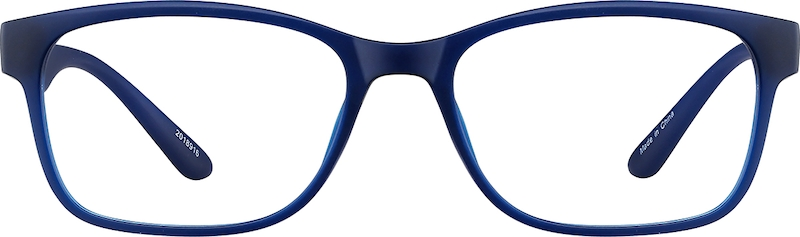 Blue Rectangle Glasses #2018916 | Zenni Optical Eyeglasses