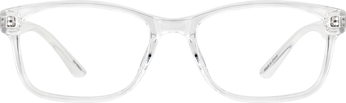 Clear Rectangle Glasses