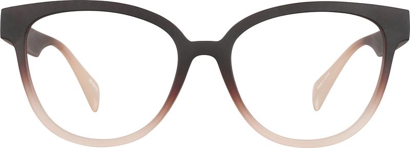 Brown Cat-Eye Glasses #2019115