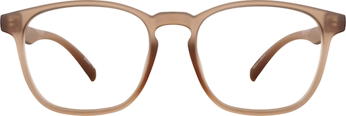 Taupe Square Glasses