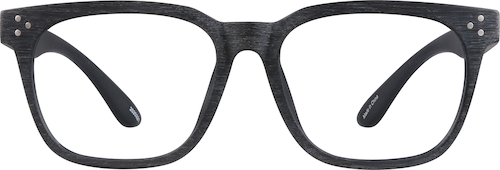 Black Manzanita Square Glasses