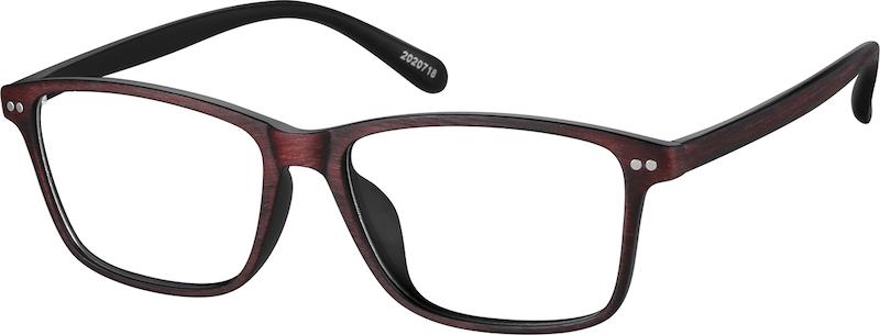 aa002f063f Rectangle Glasses 2020718. Previous. sku-2020718 eyeglasses angle view ...