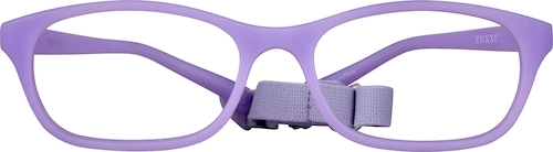 Purple Kids' Flexible Cat-Eye Glasses