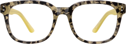 Pattern Square Glasses
