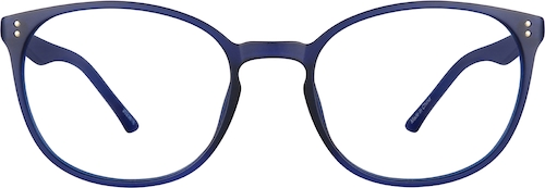 Cobalt Round Glasses