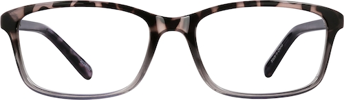 Eggplant Rectangle Glasses