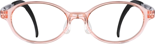 Blush Kids' Oval Glasses