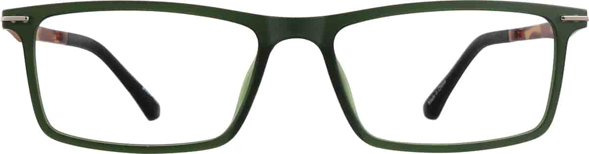 Forest Rectangle Glasses