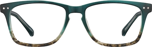 Sea Glass Rectangle Glasses