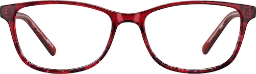 Cherry Rectangle Glasses