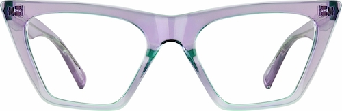 Lavender Cat-Eye Glasses