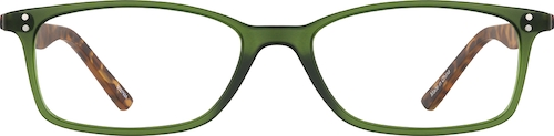 Moss Rectangle Glasses