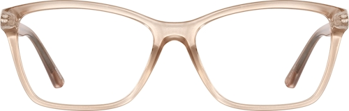 Champagne Cat-Eye Glasses