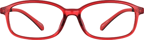 Cherry Oval Glasses