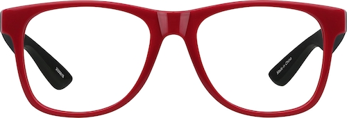 Red Square Glasses