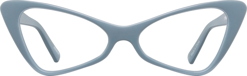 Slate Cat-Eye Glasses